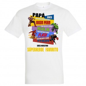 Camiseta personalizada...